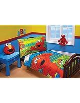 Sesame Street ABC 123 Toddler Set, 4 Piece