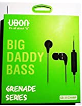 UBON earphone granade High bass