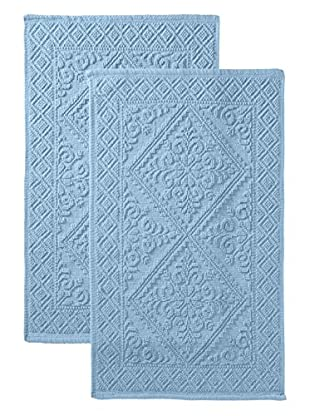 Espalma Set of 2 Estoril Rugs (Blue)
