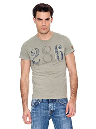 Pepe Jeans London Camiseta Friston (Verde Militar)