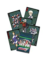 Gundam Wing Playing Cards