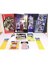 Transformers Back to School Bundle Folders - Pencils - Glue - Erasers - Cranyons