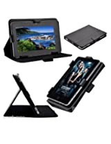 "7"" inch Universal PU Leather Case Carry Stand Cover For All Tablets"