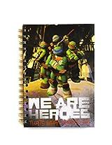 Teenage Mutant Ninja Turtles Kids Notebook Diary