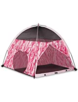 Pink Camo Play Tent