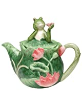 Appletree Design Alfrogo Functional Teapot, 7-Inch Tall