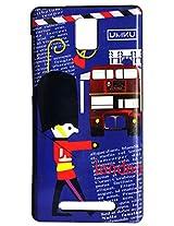 Vcare Shoppe Silicon Printed Back case cover for Xolo Era