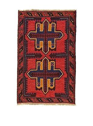 Eden Teppich Beluchistan rot/blau 89 x 135 cm