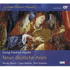 Handel/Mattheson: German Arias