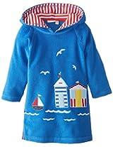 Jojo Maman Bebe Baby Boys Toweling Hooded Pull On, Blue, 12 24 Months