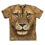 Rudraksha Brown Men 3D T shirt R3DTS 4