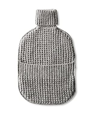 Sofia Cashmere Thermal Water Bottle Cover, Grey