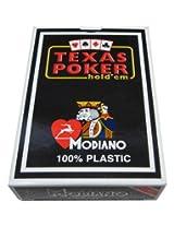 Modiano Texas Poker PL Jumbo Disco Rosso