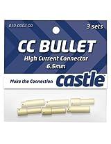 Castle Creations CCBUL653 6.5mm Bullet Connectors