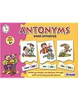 Frank Antonyms Word Opposites