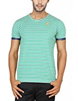 Paani Puri Men's Round Neck T-Shirt (MJSRN08_Green_X-Large)