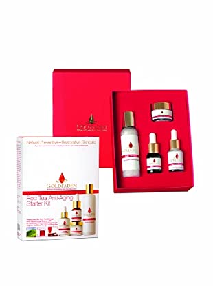 Goldfaden Red Tea Anti-Aging Starter Kit, Set of 4