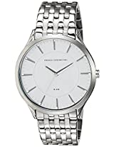 FCUK Analog White Dial Men's Watch - FC1166SMGJ