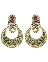 Gorgeous Bollywood Design Gold Plated Crystal Made Fashion Earring For Women Gift Jewelry