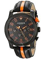 Akribos XXIV Men's AK554OR Stainless Steel Multi-Function Sport Watch