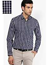 Blue Full Sleeve Casual Shirt Peter England