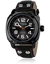 Q&Q Analog Black Dial Mens Watch-DA30-535