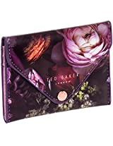 Ted Baker London Womens Card Holder Case w/ Mirror (Shadow Flora)
