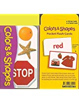 Pocket Flash Cards-Colour & Shapes