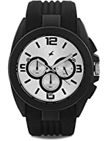 Fastrack Chronograph Analog Watch - For Men Black - 38001PP01