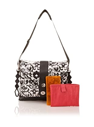 Fleurville MS3 Diaper Bag (Black/White)