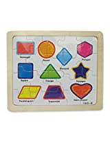 wooden shapes puzzles