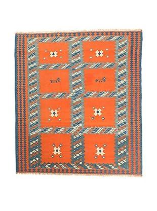 RugSense Alfombra Persian Ardebil Extra Naranja/Azul 242 x 168 cm