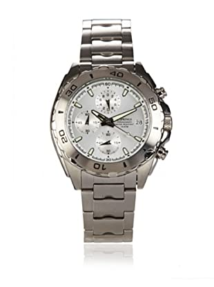 J Springs by Seiko Men's Chronograph Silver Stainless Steel Watch