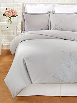 Mélange Home Grey Gardens Duvet Cover Set (Grey)