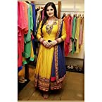 Zarine Khan Yellow Designer Anarkali Suit