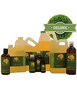 16 Fl.Oz Premium Organic Safflower Oil Pure Health Hair Skin Care Moisturizer