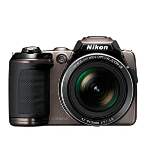 Nikon L120 with 4GB + Battery Charger (bronze)
