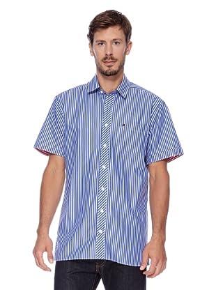 Redgreen Camisa Comfort (Azul / Blanco)