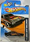 Hot Wheels 70 Dodge Hemi Challenger HW Racing 12 Black Flame