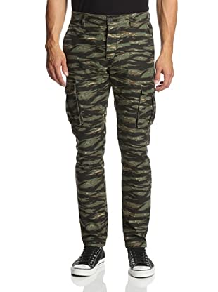 Tovar Men's Jake Cargo Pants (Green Camo)