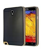 Bracevor Neo Hybrid Bumper Back Case Cover for Samsung Galaxy Note 3 Neo- Golden