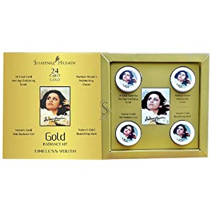 Shahnaz Husain Gold Facial Kit (Mini), 40g