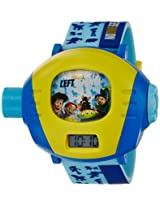 Disney Digital Multi-Color Dial Children's Watch - TP-1278 (Blue)