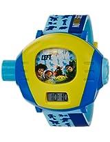 Disney Digital Multi-Color Dial Children's Watch - TP-1278 (Blue)