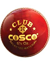 Cosco Club Cricket Ball (Pack Of 6)