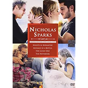 Nicholas Sparks Limited Edition Collection (Nights in Rodanthe/Message in a Bottle/The Lucky One/The Notebook)