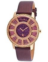 Women'S Genuine Genuine Leather Purple Dial (4713327)