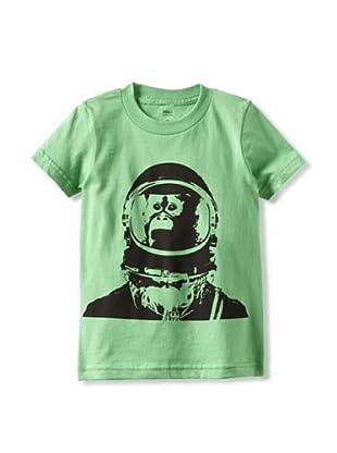 Captain Monkey Boy's The Bubbles T-Shirt (Green)