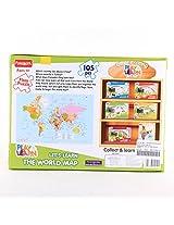 Funskool World Map Puzzle