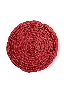 """Mar Y Sol Maybelle 29"""" Round Floor Cushion (Coral)"""